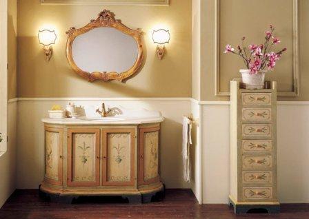 Цветовые решения классической ванной комнаты