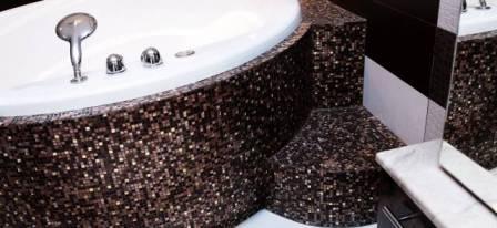 Виды мозаики для ванной