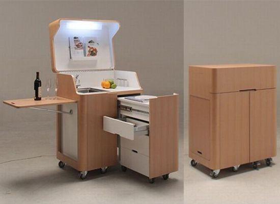 Мебель для маленькой кухни: мебель-трансформер - лучший вариант