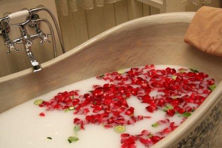 Отлично отреагирует тело на современные процедуры - ванны с фруктами