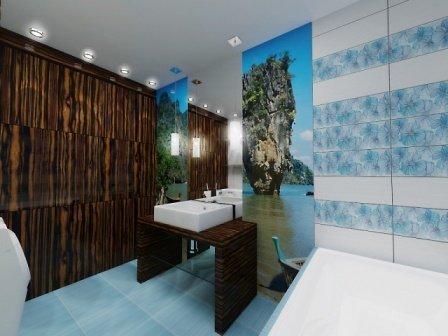 Отделка ванной пластиковыми панелями - недорого, но достаточно прилично