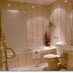 Как обшить ванную комнату вагонкой — советы мастера