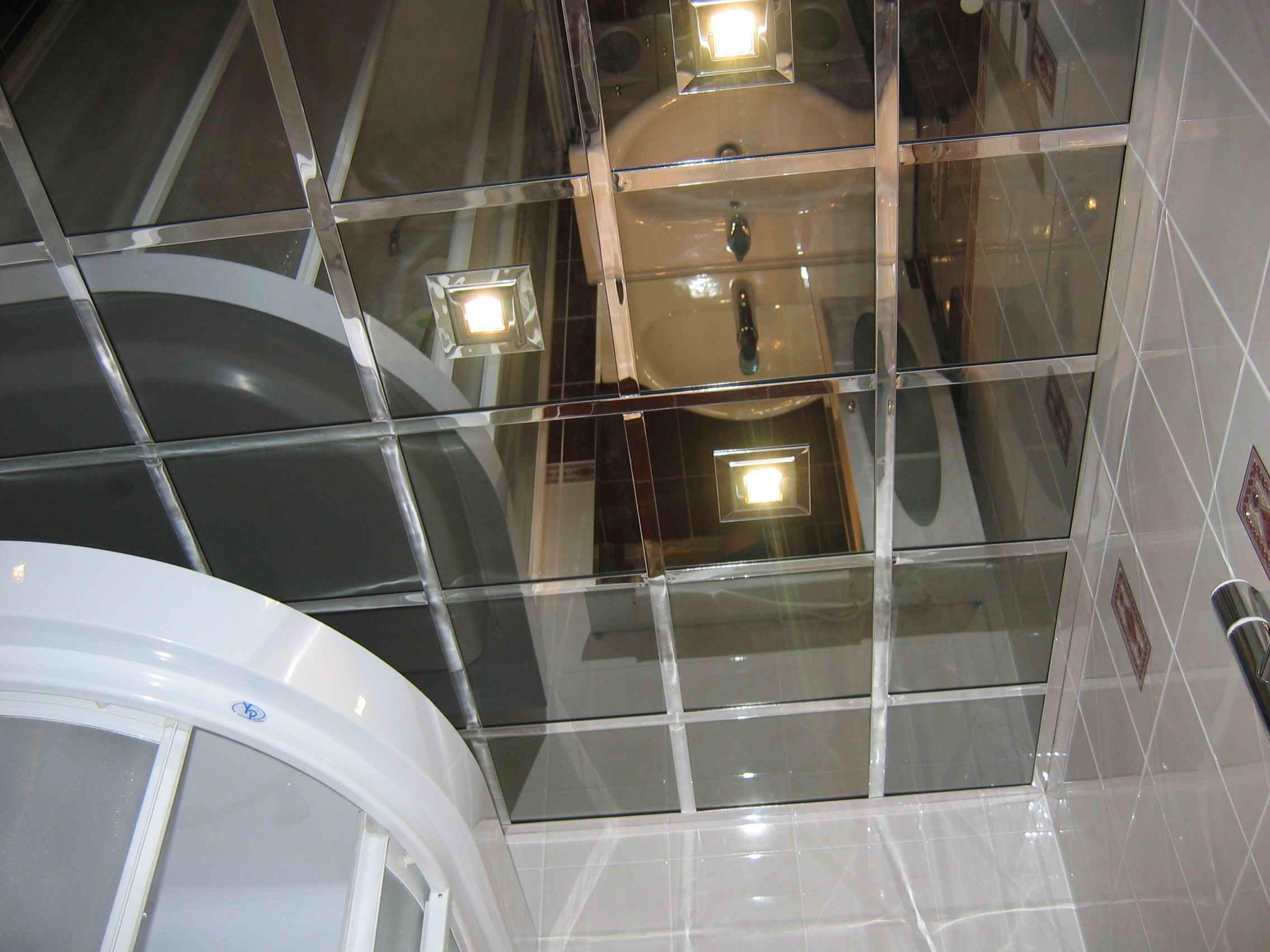 Зеркальные потолки как их сделать 3