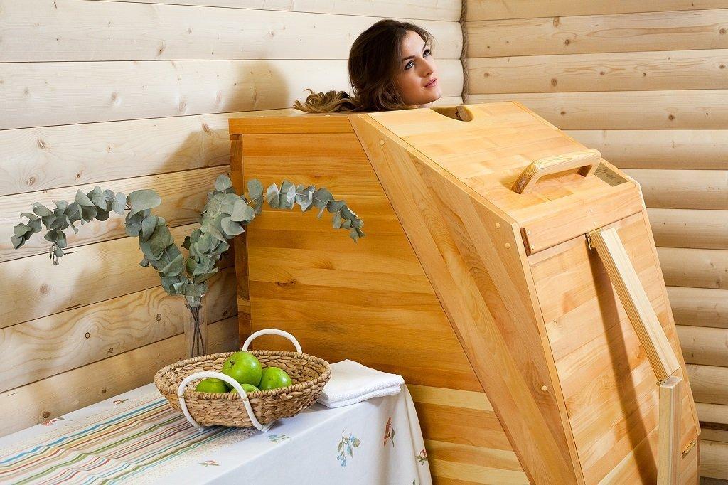 Мини-сауна в ванной комнате своими руками: салон у себя дома