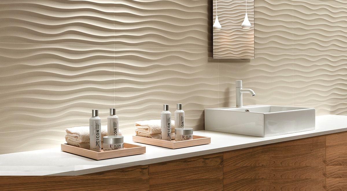 3d плитка для ванной: яркий индивидуальный дизайн