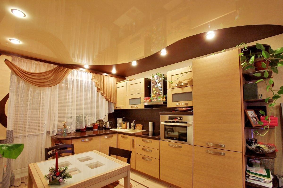 Натяжные потолки для кухни: как правильно выбрать и установить