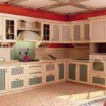 Модульная кухня Кантри