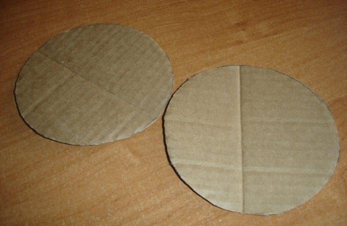 Картонные круги