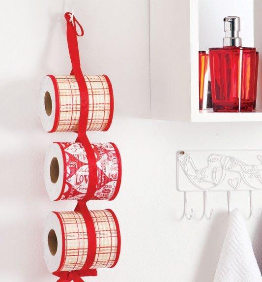 Из обычных жестяных банок можно сделать уникальную деталь интерьера - держатель ля туалетной бумаги
