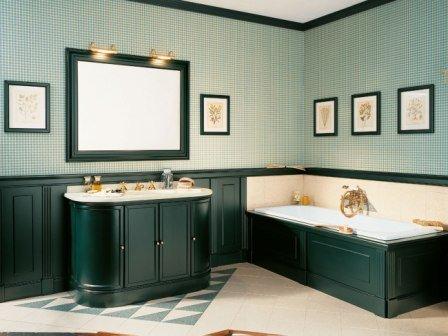 Отделка ванной комнаты в классическом стиле