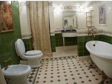 Сантехника для классической ванной комнаты