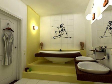 Идеи маленькой ванной комнаты