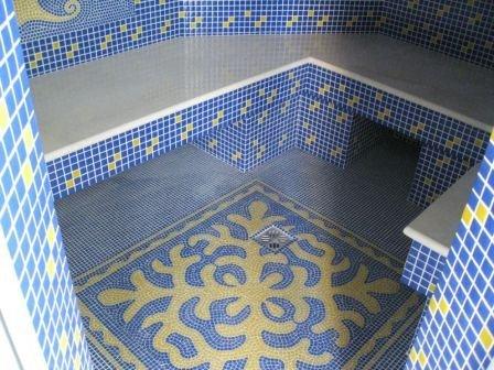 Фотографии мозаики в ванной