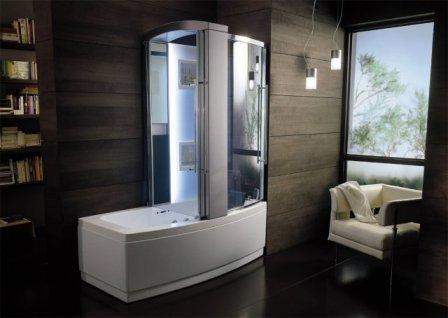 Как выбрать душевую кабину в ванную