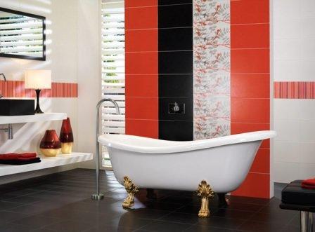 Использование керамической плитки в ремонте ванной комнаты
