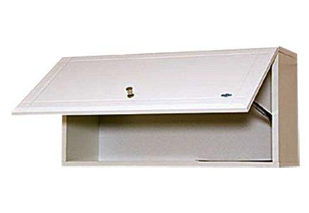 Горизонтальный навесной шкаф для ванной - правильное решение для небольшой ванной