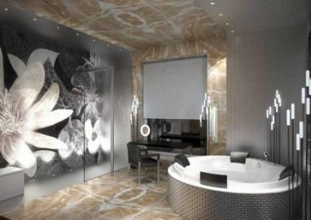 Лучшие образцы дизайна и интерьера современных ванных комнат
