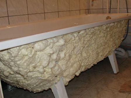 Шумоизоляция стальной ванны