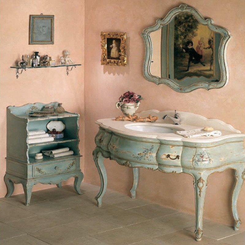 Ванная комнатя в итальянском стиле на основе барокко