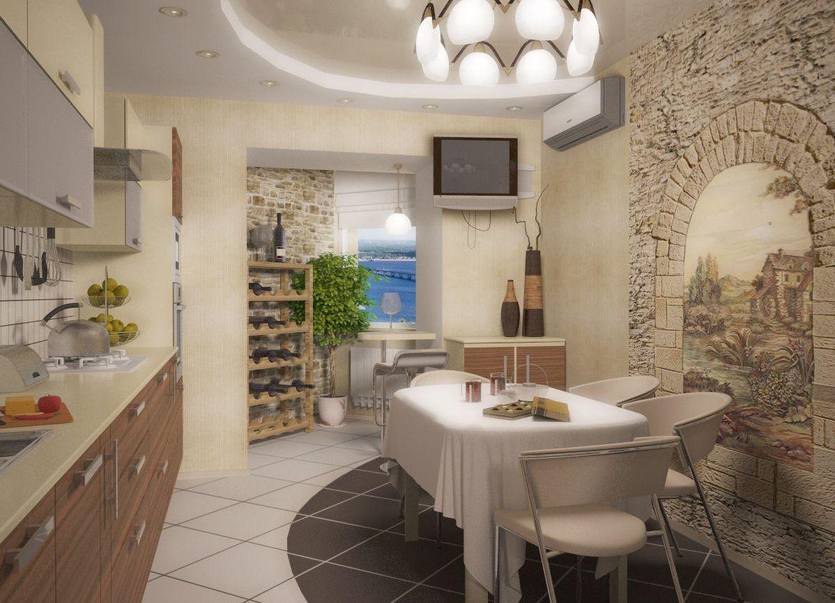 Отделка стен на кухне: дизайн, декор, подбор материалов