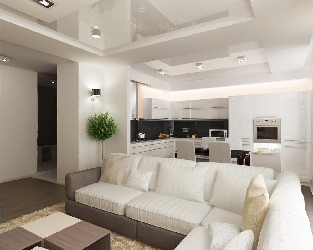 Советы по дизайну и ремонту кухни-гостиной