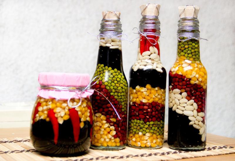 Декор бутылок своими руками — идеи с фото