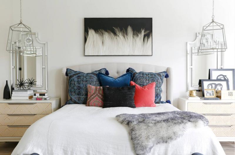 Декор спальни своими руками из подручных материалов