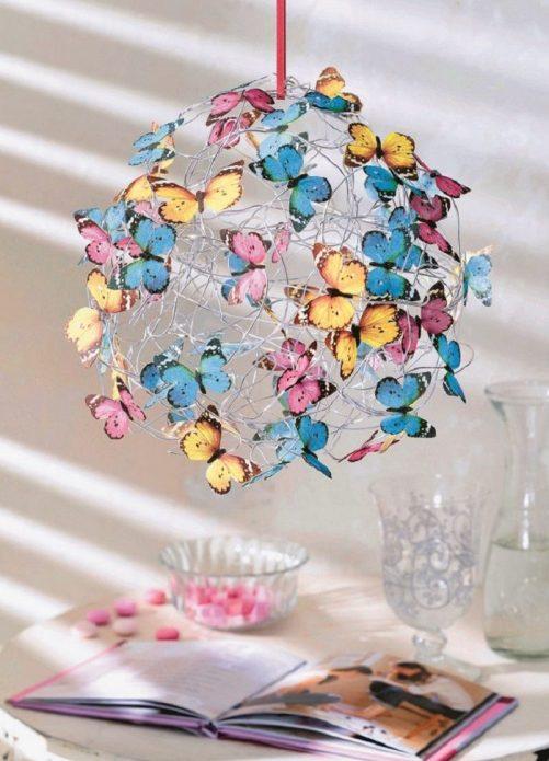 Декор для дома с бабочками