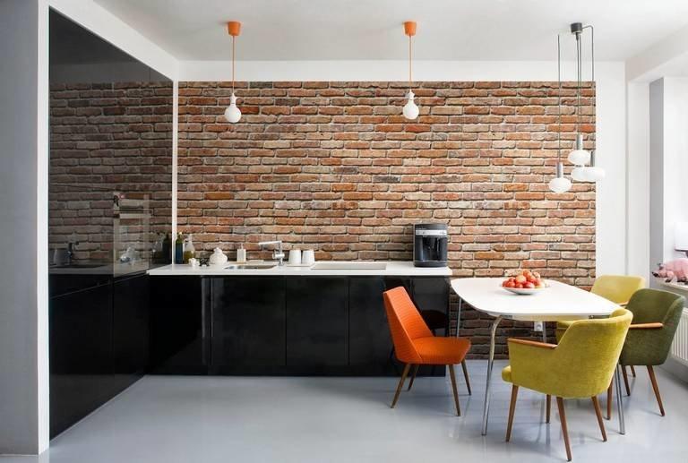 Плитка «под кирпич» в дизайне интерьеров