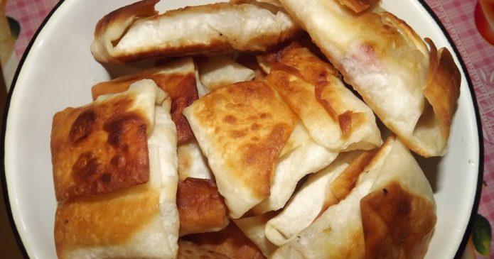 как приготовить пирожки с яблоками из лаваша