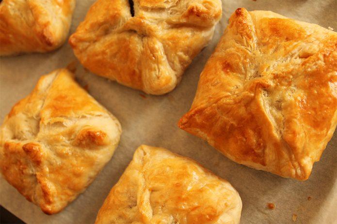 Пирожки с картошкой и каштанами